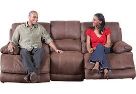 cindy crawford recliner sofa cindy crawford home van buren brown reclining sofa sofas brown