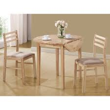 breakfast table coaster 3 piece breakfast table set natural walmart com