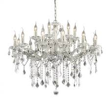 Florian Crystal Chandelier Ideal Lux Florian Sp18 Gold Chrome Chandelier Nikomlight