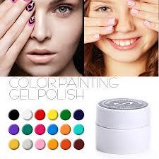 aliexpress com buy semi permanent gel ink 3d nail art drawn