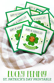st s day cards printable lucky st s day cards see craft