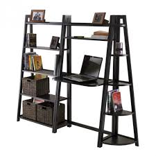Ladder Bookcases Ikea by Wooden Ladder Shelf Ikea Appealing Collection Of Rustic Ladder