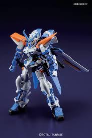 blue seed gundam guy hg 1 144 gundam astray blue frame 2nd l released in