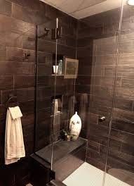 Tiled Bathrooms Ideas Showers Best 25 Wood Tile Shower Ideas Only On Pinterest Large Style