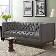 Modway Panache Chesterfield Sofa  Reviews Wayfair - Chesterfield sofa and chairs