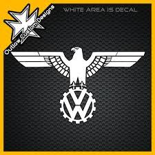 vw wwii german eagle logo 2 outlaw custom designs llc