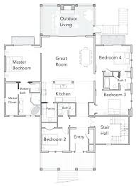 beach homes plans oceanfront house plans southern style lake rustic walkout basement