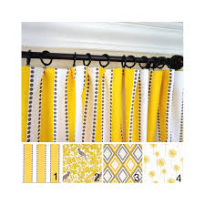 yellow curtains yellow kelp window curtains yellow window