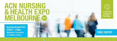 acn nursing and health expo melbourne 2017 australian college of