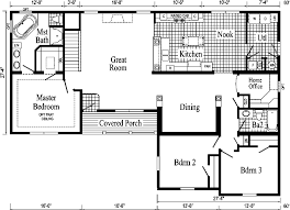 ranch style house floor plans davenport ii ranch style modular home pennwest homes model s