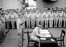 Flag Carrier Of Japan Japanese Instrument Of Surrender Wikipedia