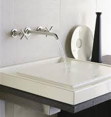 modern bathroom sink faucets home design elite waterfall