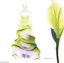 a new way to look at floral fashions the illustrator who uses