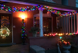 Colored Christmas Lights by Christmas The Year Of Living Fabulously