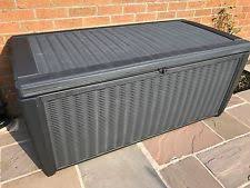 extra large plastic home storage boxes with handles ebay