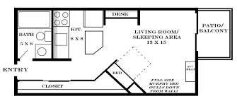 Apartment Blueprints Studio Apt Floor Plans Home Decorating Interior Design Bath