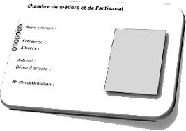 carte chambre des metiers une carte d identité pour l entreprise artisanale site d