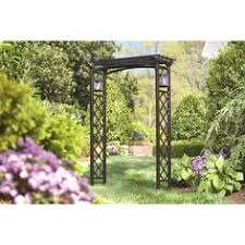 lowes wedding arches 52 76 in w x 79 9 in h brown vaulted top garden arbor getting