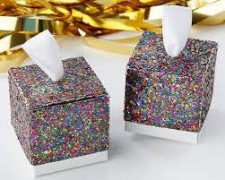 Favor Boxes by Multicolor Glitter Favor Box Set Of 24 Kate Aspen