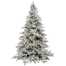 vickerman flocked utica 7 5 green fir artificial tree