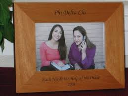 sorority picture frame engraved picture frames engraved frames