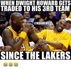 Dwight Howard Memes - when dwight howard gets traded to his ard team since the lakers