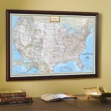 United States Map Puzzle by Framed U0026 Laminated Wall Maps National Geographic Store