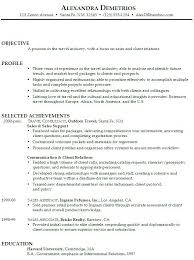 resume for retail sales associate objective objective in resume for sales associate resumes