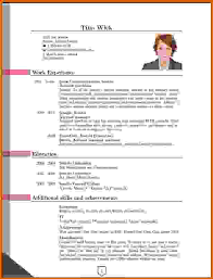 most current resume format format