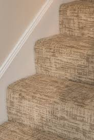 stairs carpet pattern tailored verona serenity brown