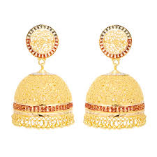 gold earrings for wedding new classic bridal gold earrings earrings gold material