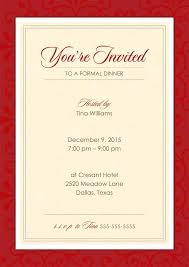 formal luncheon invitation wording best photos of sle formal event invitations formal dinner