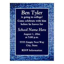going away to college cards invitations greeting photo cards