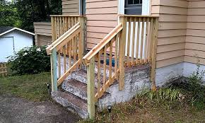 Wooden Stairs Design Outdoor Outdoor Wooden Stair Railing Designs Captivating Stairs Design