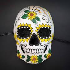 day of the dead masks day of the dead masks dia de los muertos masquerade mask m38200