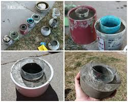 How To Make Homemade Concrete by Remodelaholic Diy Cement Planters And Garden Globes