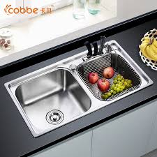 Sink For Kitchen 304 Stainless Steel Above Counter Kitchen Sinks Single