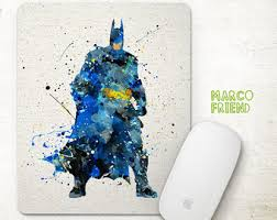 Batman Desk Accessories Batman Office Decor Etsy