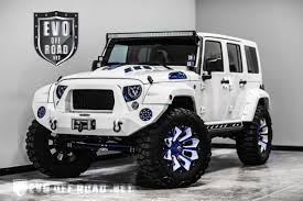 custom jeep wrangler unlimited for sale 2016 jeep wrangler sport unlimited nav bluetooth custom blue