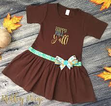 happy fall ya ll toddler dress thanksgiving toddler