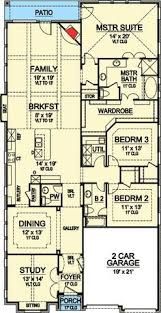 Lake Home Plans Narrow Lot Best 25 Narrow House Plans Ideas On Pinterest Small Open Floor