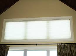 honeycomb shade on transom window jpg