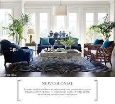 new colonial furniture and home decor williams sonoma home