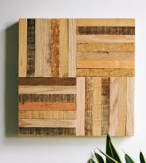 stick pattern reclaimed wood wall pieces six