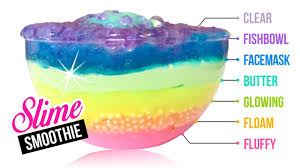 7 layer slime mixing all types of diy slime together youtube