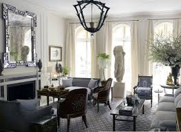 interior design by howard slatkin of the living room of the beaux
