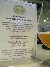 cask ales and rare italians ballard on beer charleston city paper click to enlarge t ballard lesemann cask beer night at teds butcherblock 2012