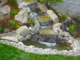 fountain pond water feature diy small backyard easy backyard pond