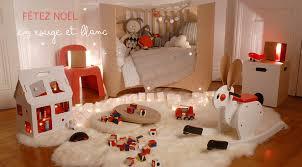 modele chambre enfant un design unique avec une déco de noël originale pour vos enfants
