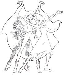 coloring totally spies coloring pages 15